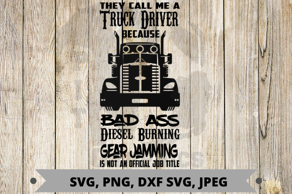 Download Free Truck Driver Graphic By Pit Graphics Creative Fabrica for Cricut Explore, Silhouette and other cutting machines.