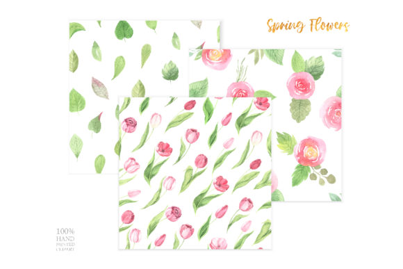 Watercolor Spring Floral Collection Graphic Illustrations By Larysa Zabrotskaya - Image 10