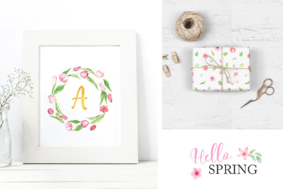 Watercolor Spring Floral Collection Graphic Illustrations By Larysa Zabrotskaya - Image 12