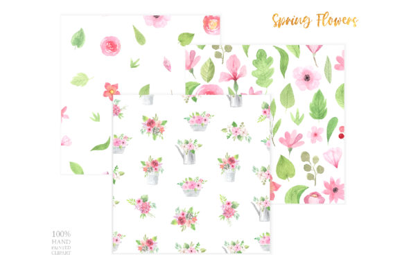 Watercolor Spring Floral Collection Graphic Illustrations By Larysa Zabrotskaya - Image 7