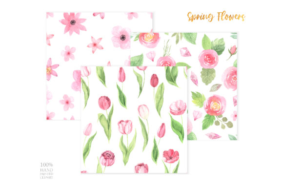 Watercolor Spring Floral Collection Graphic Illustrations By Larysa Zabrotskaya - Image 8