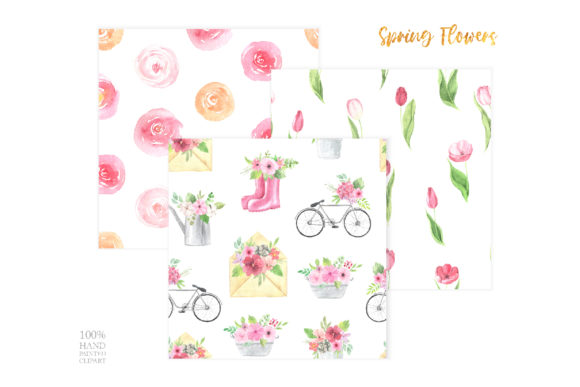 Watercolor Spring Floral Collection Graphic Illustrations By Larysa Zabrotskaya - Image 9