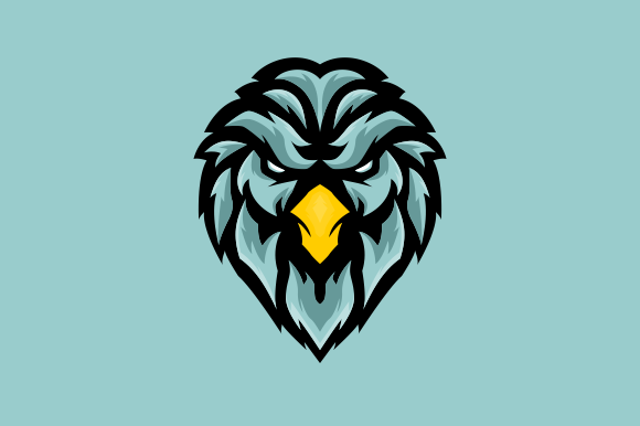 Download Free Blue Eagle E Sports Logo Gaming Mascot Graphic By Depadepi for Cricut Explore, Silhouette and other cutting machines.