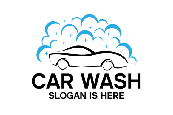 Download Free Car Wash Logo Designs Graphic By Fat 69 Creative Fabrica for Cricut Explore, Silhouette and other cutting machines.
