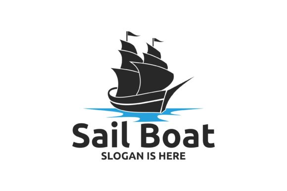 Download Free Sail Boat Logo Designs Graphic By Fat 69 Creative Fabrica for Cricut Explore, Silhouette and other cutting machines.