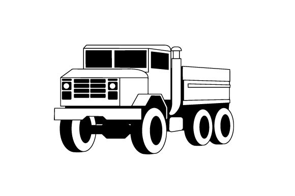 Military Truck Military Craft Cut File By Creative Fabrica Crafts - Image 2