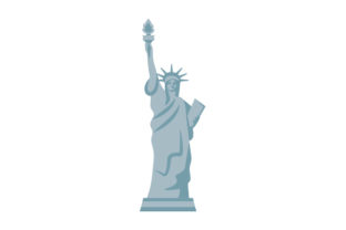 Statue of Liberty Independence Day Craft Cut File By Creative Fabrica Crafts