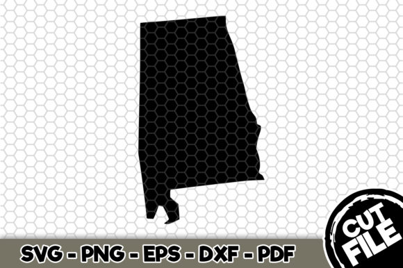 Print on Demand: Alabama State Graphic Crafts By SVGExpress