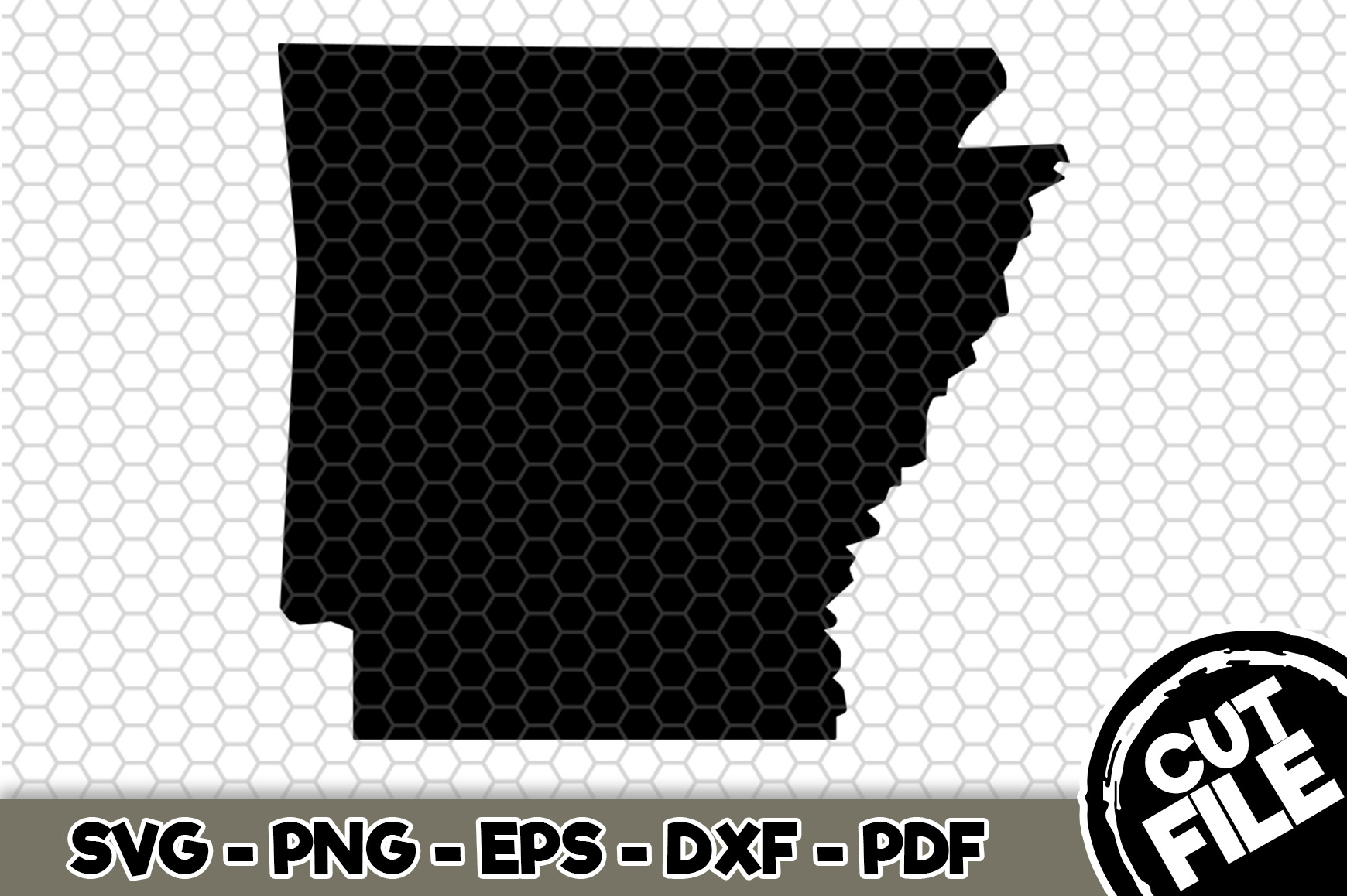 Download Free Arkansas State Graphic By Svgexpress Creative Fabrica for Cricut Explore, Silhouette and other cutting machines.