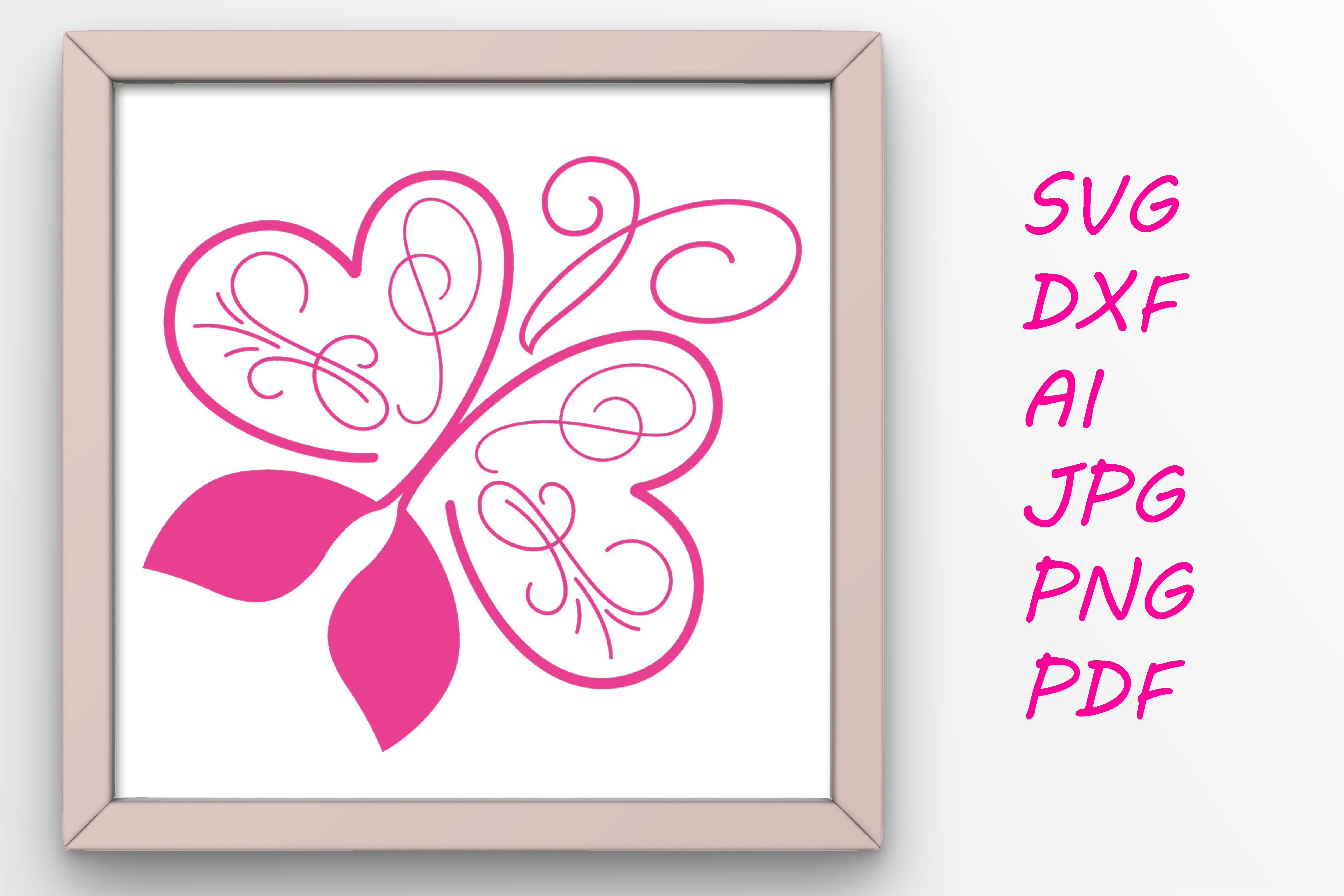 Download Free Butterfly Graphic Graphic By Tanja Dianova Creative Fabrica for Cricut Explore, Silhouette and other cutting machines.