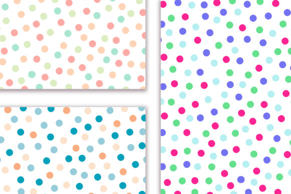 Candy Polka Dot Background Graphic Backgrounds By PinkPearly - Image 5