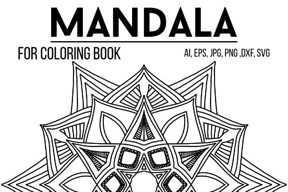 Print on Demand: Coloring Book Mandala Graphic Coloring Pages & Books Adults By stanosh