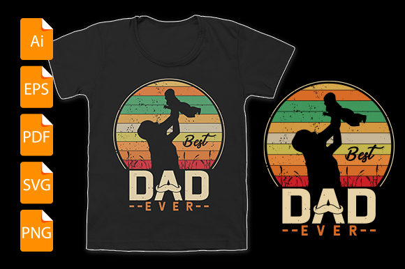Download Free Dad T Shirt Design Graphic By Bsakib777 Creative Fabrica for Cricut Explore, Silhouette and other cutting machines.