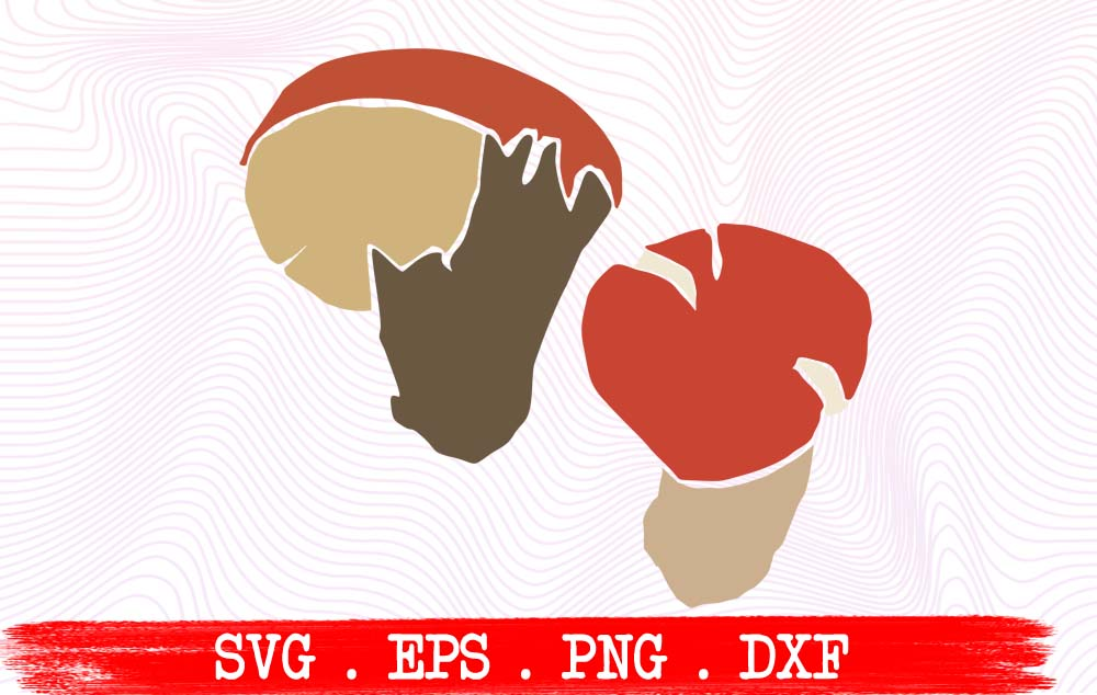 Download Free Forest Mushrooms Graphic By Vikshangat Creative Fabrica for Cricut Explore, Silhouette and other cutting machines.