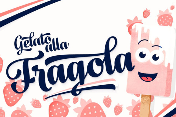 Print on Demand: Fragola Script & Handwritten Font By fenotypefonts - Image 1