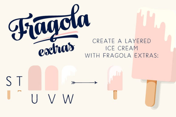 Print on Demand: Fragola Script & Handwritten Font By fenotypefonts - Image 5