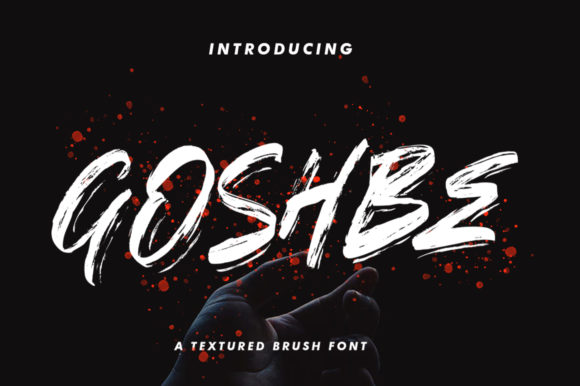 Print on Demand: Goshbe Script & Handwritten Font By vultype