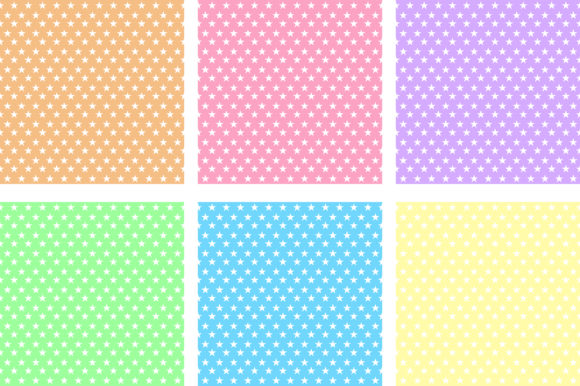 Little Star Pastel Background Graphic By Pinkpearly Creative
