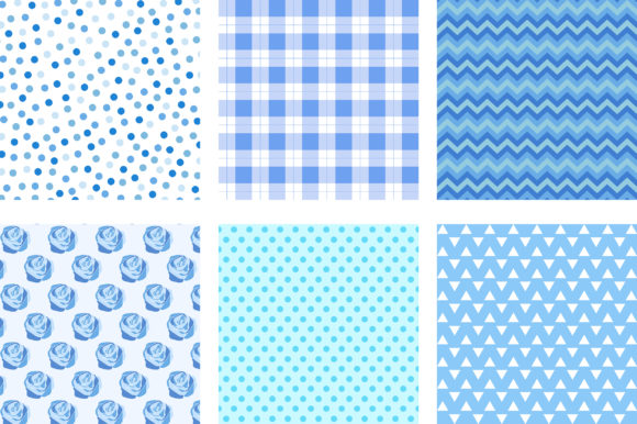 Lovely Blue Pastel Background Graphic Backgrounds By PinkPearly - Image 2