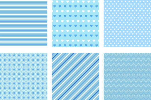 Lovely Blue Pastel Background Graphic Backgrounds By PinkPearly - Image 3