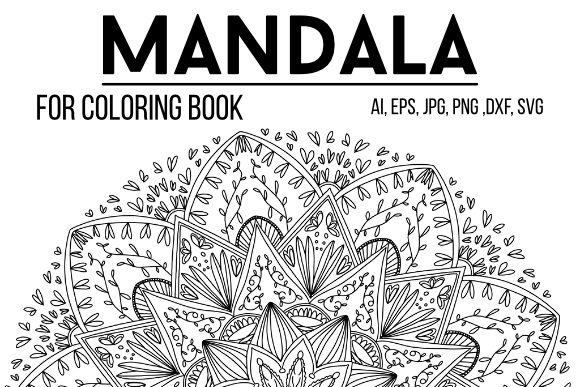 Print on Demand: Mandala 08 to Color Graphic Coloring Pages & Books Adults By stanosh - Image 1