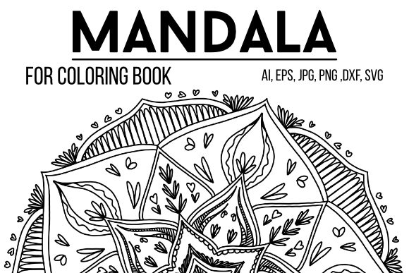Print on Demand: Mandala 09 to Color Graphic Coloring Pages & Books Adults By stanosh - Image 1