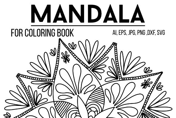 Print on Demand: Mandala 10 to Color Graphic Coloring Pages & Books Adults By stanosh - Image 1