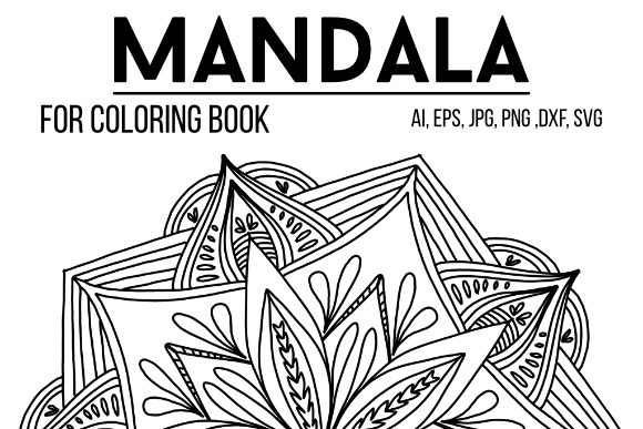 Print on Demand: Mandala 11 to Color Graphic Coloring Pages & Books Adults By stanosh - Image 1
