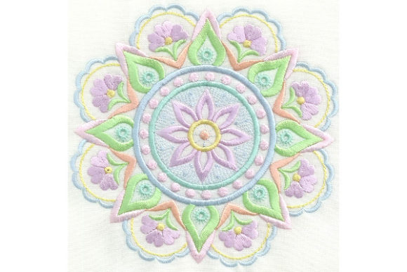 Mandala Magic Mandala Stickdesign von Enigma Embroidery