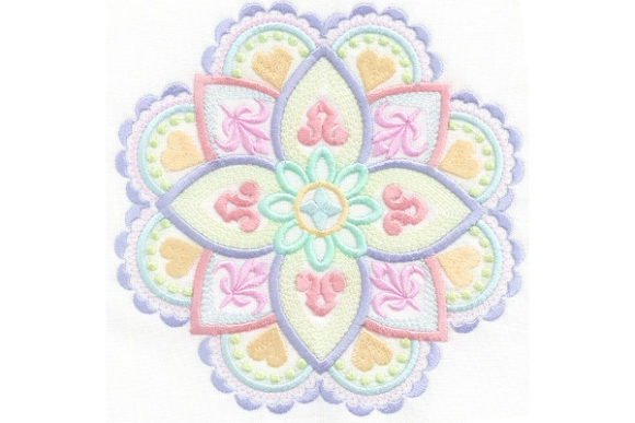 Mandala Magic Mandala Embroidery Design By Enigma Embroidery