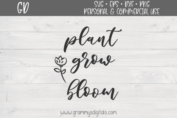 Plant Grow Bloom Graphic By Grammy S Digitals Creative Fabrica