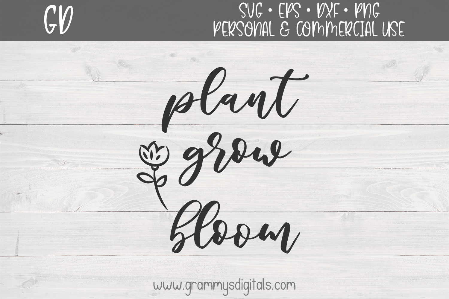 Download Free Plant Grow Bloom Graphic By Grammy S Digitals Creative Fabrica for Cricut Explore, Silhouette and other cutting machines.