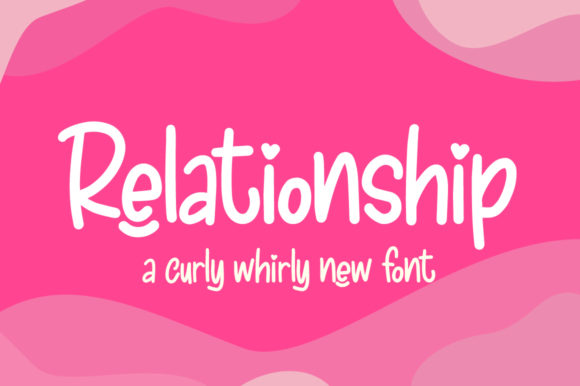 Print on Demand: Relationship Display Font By Salt & Pepper Designs - Image 1
