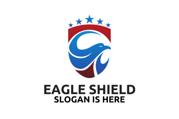 Download Free Eagle Logo Designs Graphic By Fat 69 Creative Fabrica SVG Cut Files