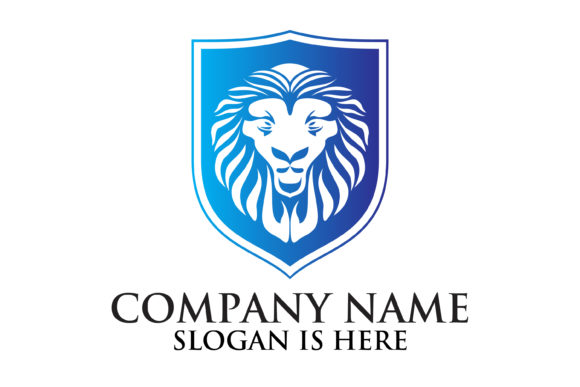 Download Free Lion Logo Designs Graphic By Fat 69 Creative Fabrica for Cricut Explore, Silhouette and other cutting machines.