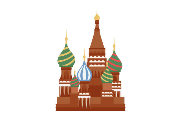 St. Basil's Cathedral Travel Craft Cut File By Creative Fabrica Crafts - Image 1