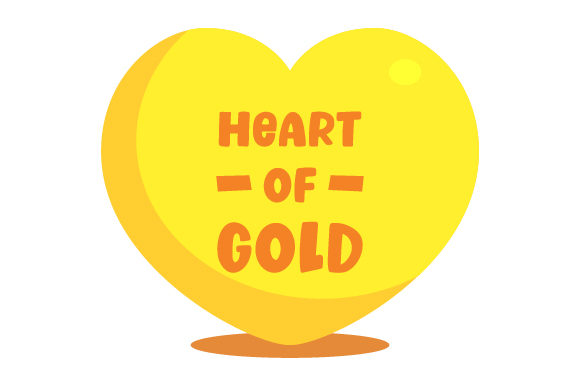 Download Free Heart Of Gold Svg Cut File By Creative Fabrica Crafts Creative for Cricut Explore, Silhouette and other cutting machines.