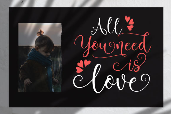 Print on Demand: Brightlady Script & Handwritten Font By Sulthan Studio - Image 7