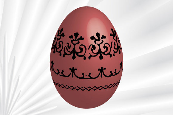 Print on Demand: Easter Egg Vector Antique Ornaments Graphic Illustrations By GraphicsFarm
