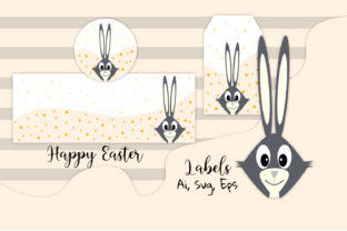 Easter Labels, Easter, Easter Decor Graphic Backgrounds By Igraphic Studio