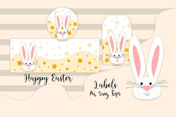 Download Free Easter Labels Easter Svg Easter Vector Graphic By Igraphic for Cricut Explore, Silhouette and other cutting machines.