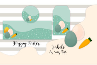 Download Free Easter Easter Labels Easter Decor Graphic By Igraphic Studio Creative Fabrica for Cricut Explore, Silhouette and other cutting machines.