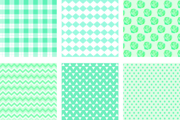 Green Mint Pastel Background Graphic Backgrounds By PinkPearly - Image 2
