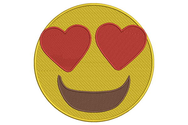 Download Free Heart Eyes Emoji Creative Fabrica for Cricut Explore, Silhouette and other cutting machines.