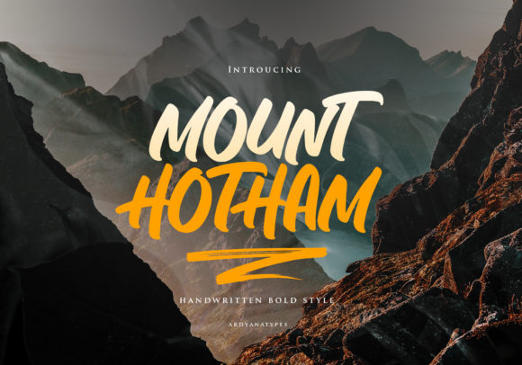 Print on Demand: Hotham Display Font By ardyanatypes