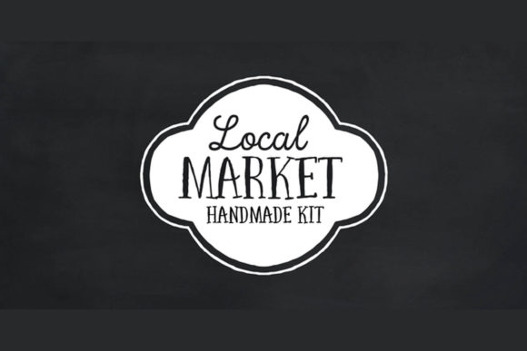 Print on Demand: Local Market Script & Handwritten Font By cultivatedmind.types