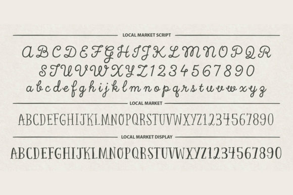 Print on Demand: Local Market Script & Handwritten Font By cultivatedmind.types - Image 3
