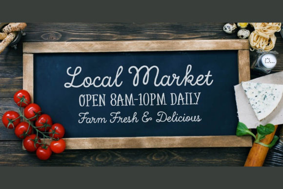 Print on Demand: Local Market Script & Handwritten Font By cultivatedmind.types - Image 4