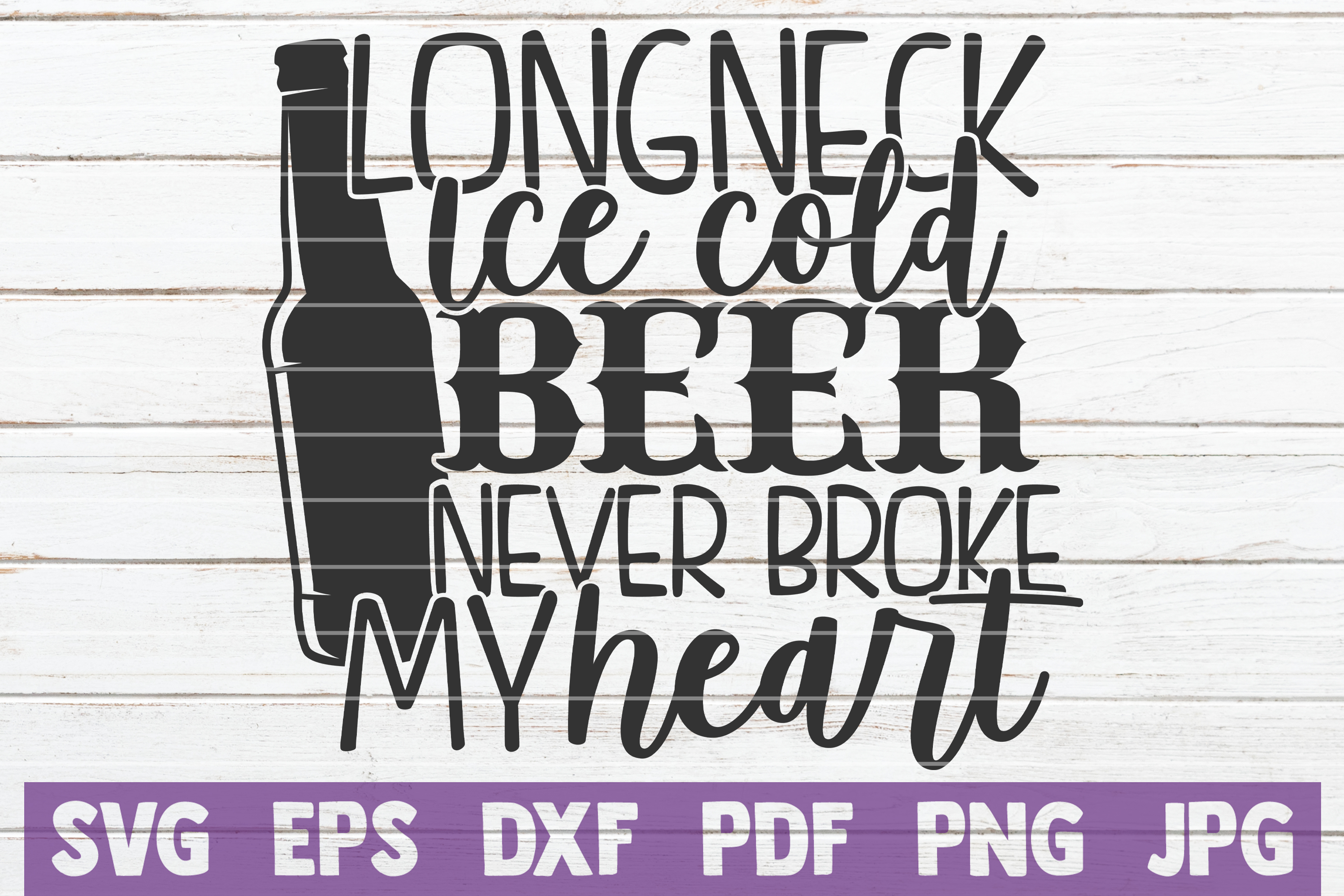 Download Free Long Neck Ice Cold Beer Graphic By Mintymarshmallows Creative for Cricut Explore, Silhouette and other cutting machines.