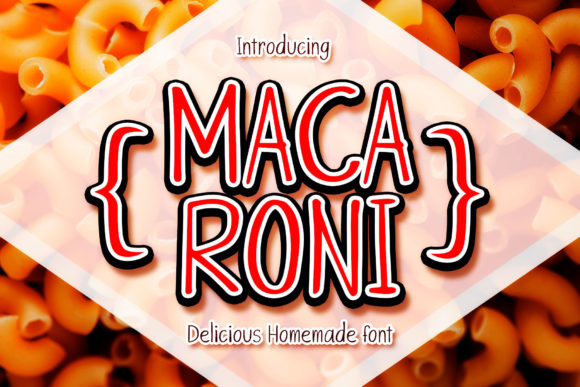 Print on Demand: Macaroni Manuscrita Fuente Por numnim